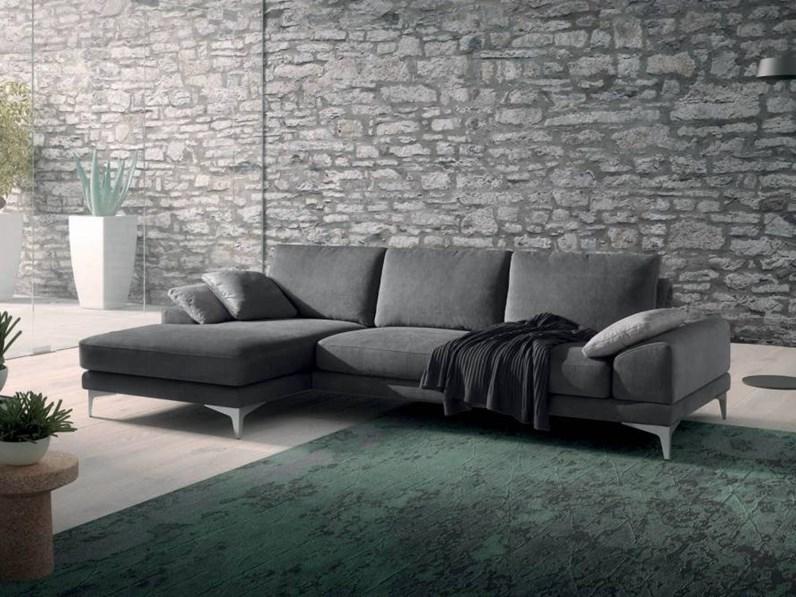 Divano con penisola upper top samoa offerta outlet - Rivestimento divano costo ...