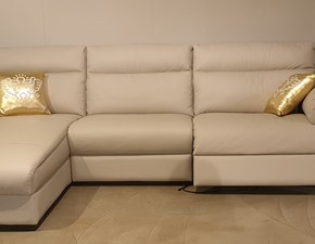 Divano con penisola William Doimo sofas in Offerta Outlet