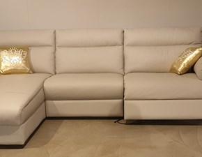Divano con penisola William Doimo sofas in Offerta Outlet