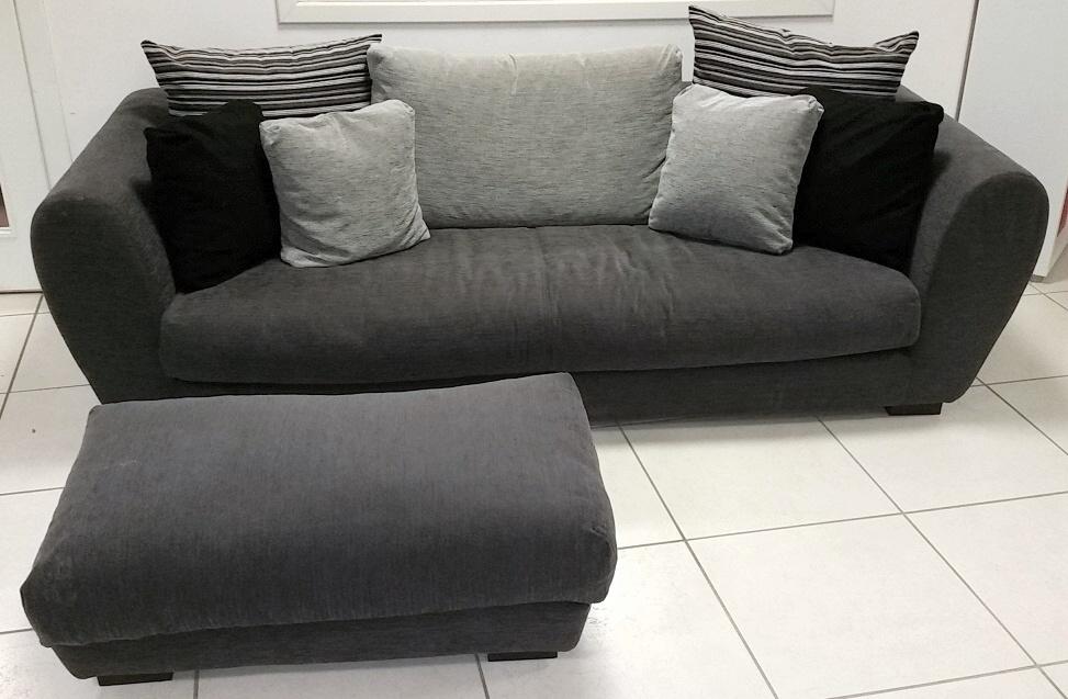 Divano mod taylor bontempi sottocosto divani a prezzi for Divano con pouf