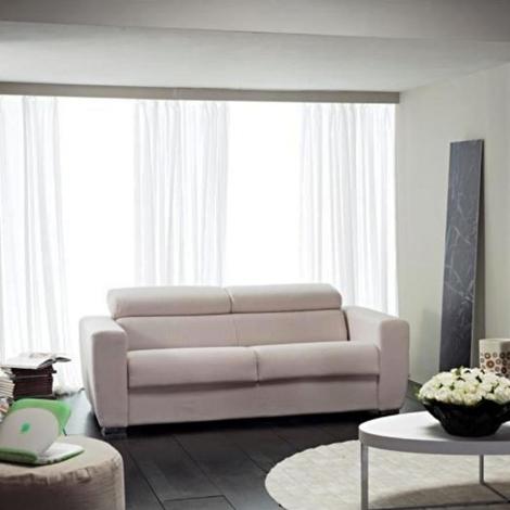 Divano con schienale reclinabile e divano letto estraibile - Cuscini schienale divano ...