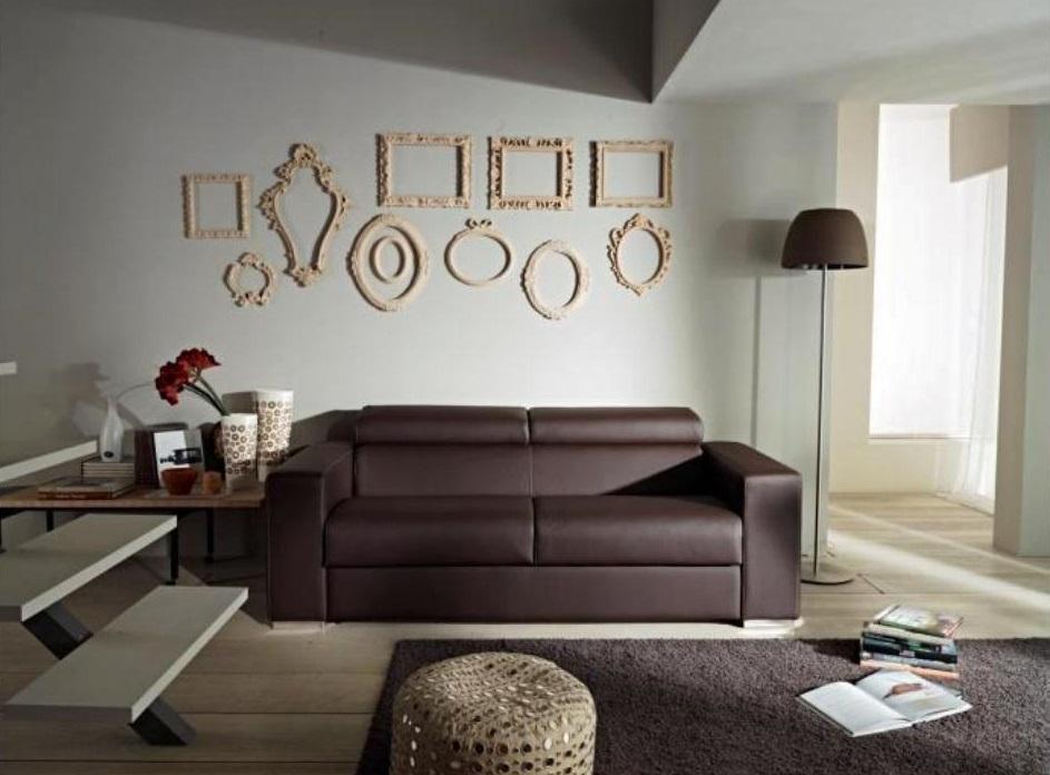 Divano con schienale reclinabile letto estraibile con materasso in memory divani a prezzi scontati - Schienale divano letto ...