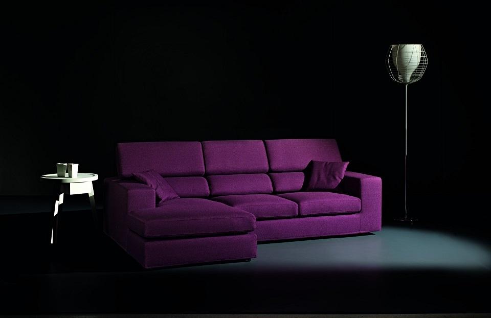 Divano gaia con schienale reclinabile super offerta divani a prezzi scontati - Schienale divano ...
