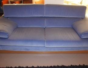 Divano Coppia di divani azzurro Ft con sconto 50%