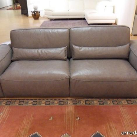 Divano in pelle latemar in offerta divani a prezzi scontati for Offerta divano