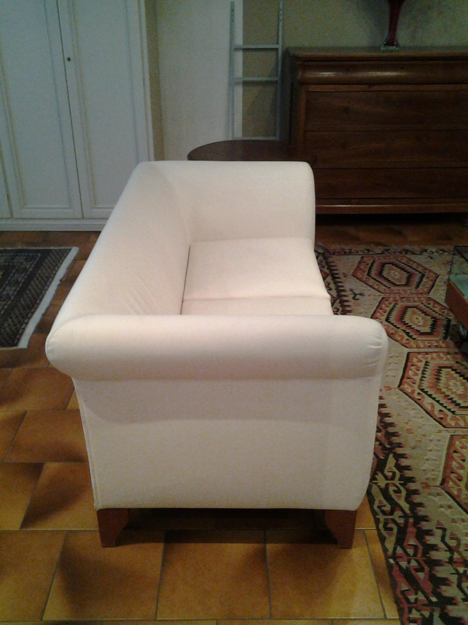 Divano dema ottomane divani con poltrona tessuto divano 2 for Divano 2 posti divani e divani