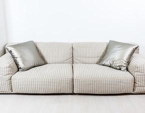 Divano di design mod.Delano by Pianca in tessuto L.264cm OFFERTA OUTLET