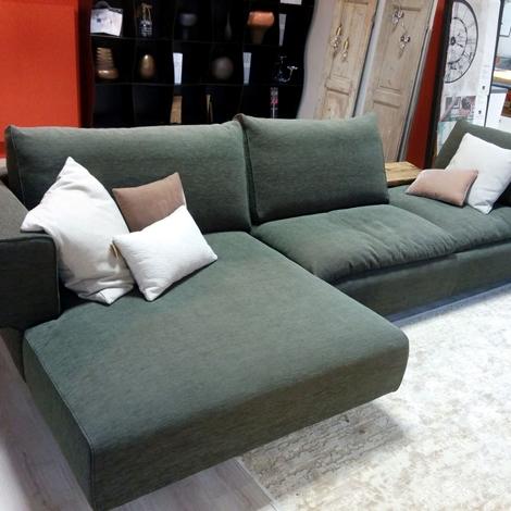 Offerta divano ditre italia mod ecl ctico scontato del 40 divani a prezzi scontati - Divano doppia seduta ...