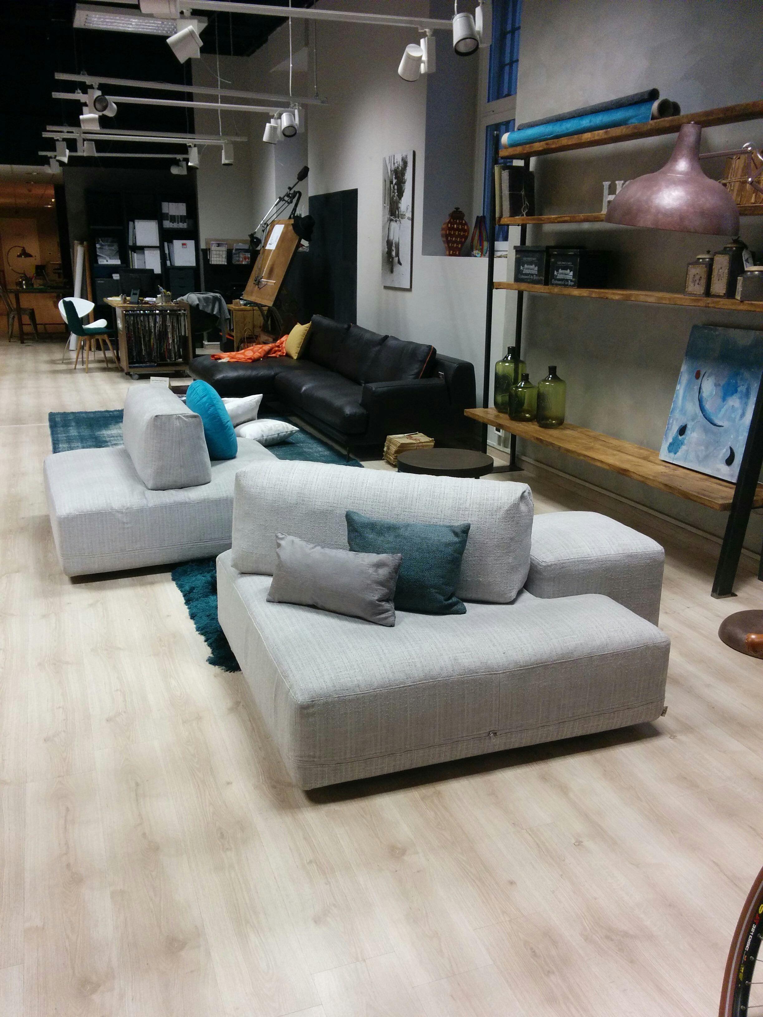 Offerta divano ditre italia mod sanders in tessuto - Altezza seduta divano ...