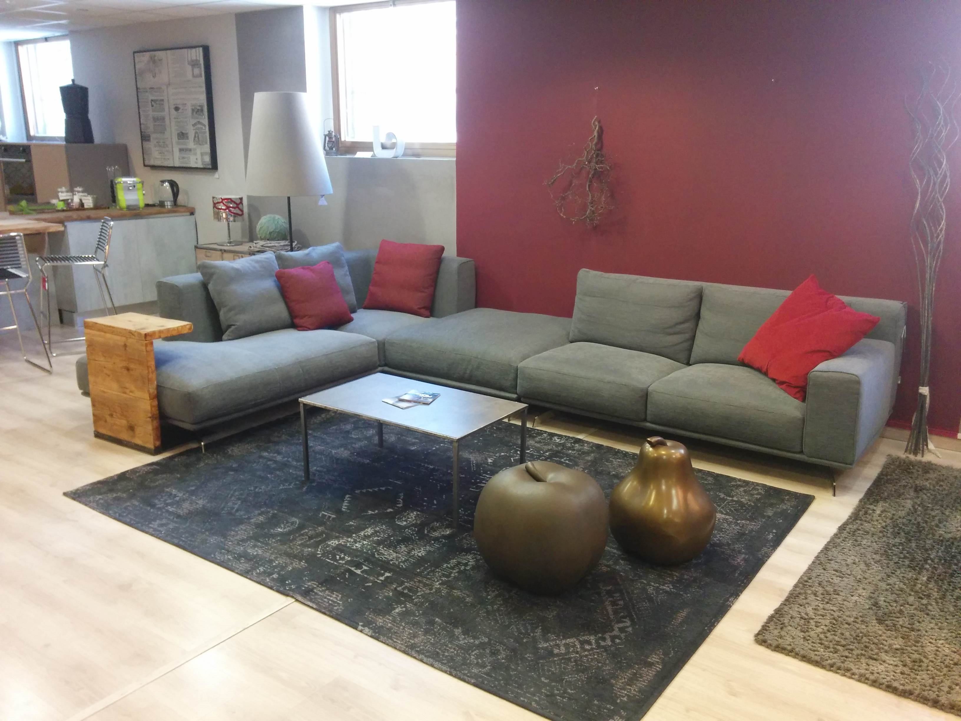 Offerta divano ditre italia modello dalton in tessuto - Divano profondita 75 ...