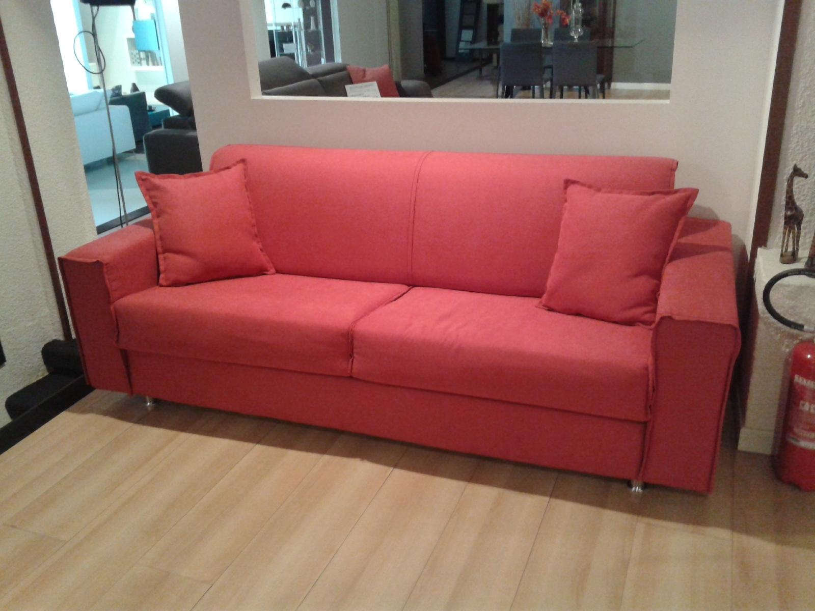 Divano letto modello milano divani letto tessuto divano 3 - Divano letto prezzi ...