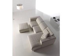 Divano Divano mod.people con poggiatesta reclinabili e sedute estraibili in promo-sconto del 50% Pandolfi a PREZZO OUTLET