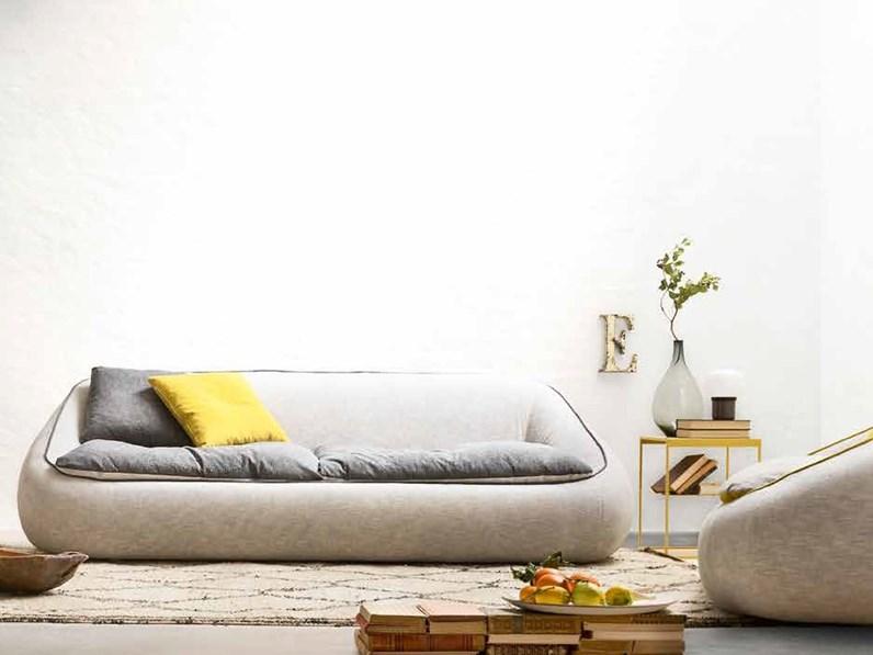 Divani Design.Divano Piuma Diverse Misure Design In Panno