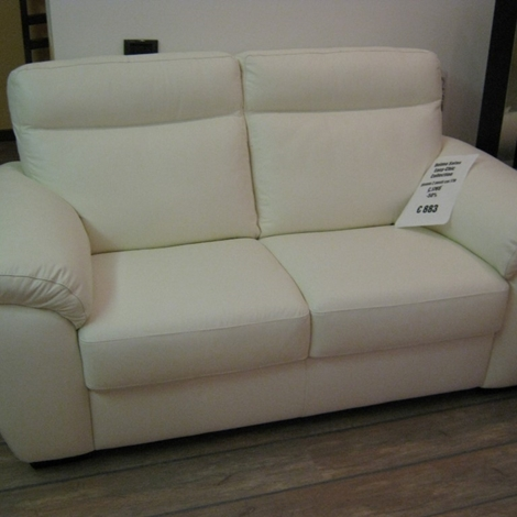 Divano doimo pelle charles scontato al 50 divani a - Misure divano al ...