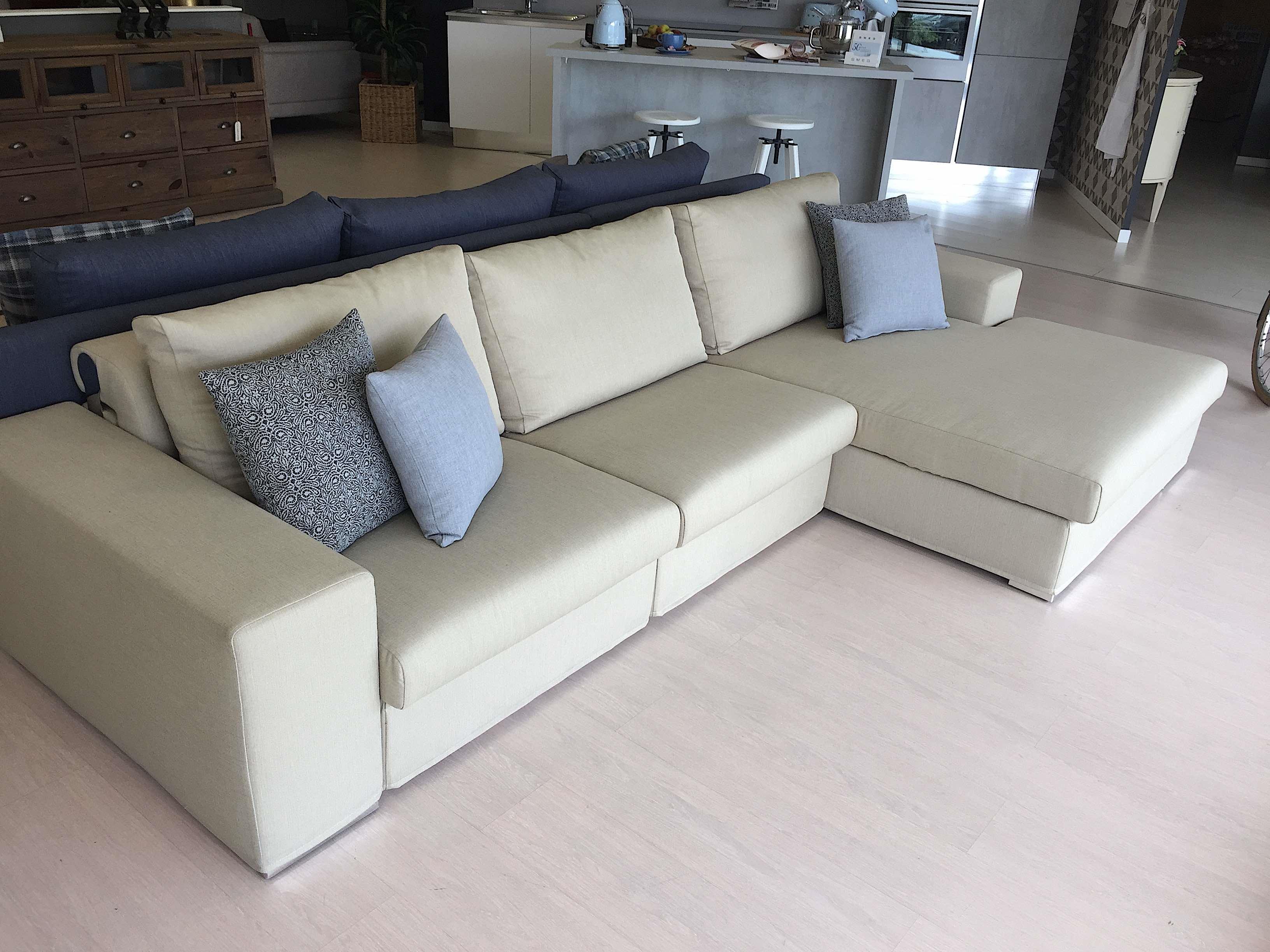 Divano doimo salotti atlante divani con penisola tessuto divani a prezzi scontati - Divano doimo prezzo ...