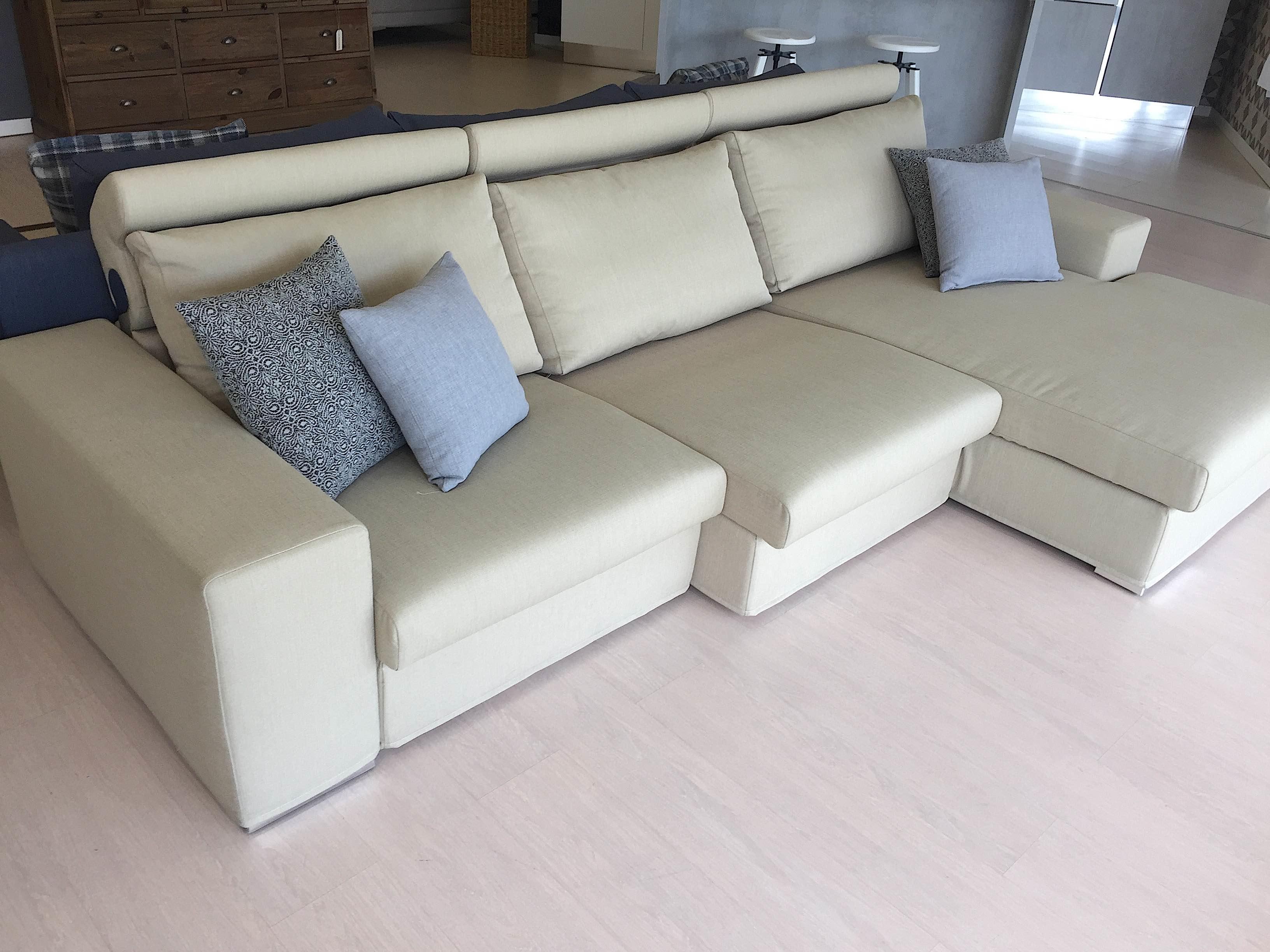 Divano doimo salotti atlante divani con penisola tessuto for Divani salotti