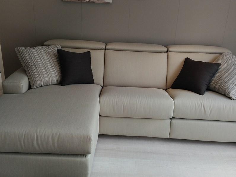Divano doimo salotti modello marvin tessuto scontato del 71 - Tessuto rivestimento divano ...