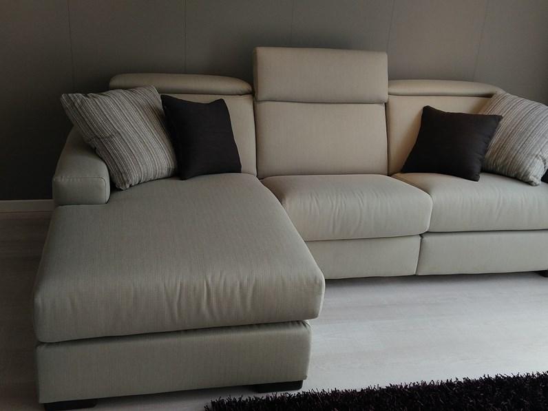 Divano doimo salotti modello marvin tessuto scontato del 57 - Tessuto rivestimento divano ...