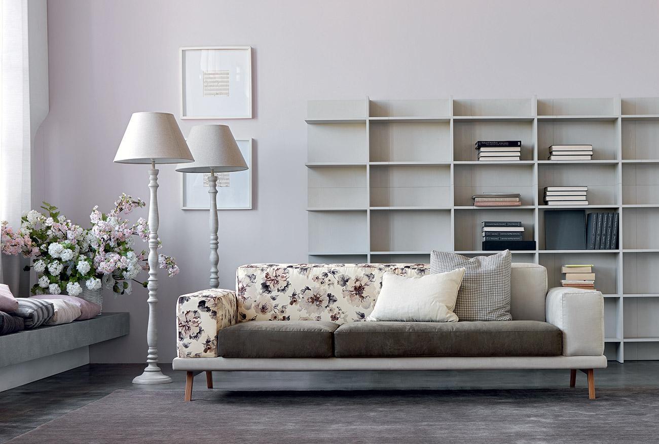 Divano doimo salotti modello essential divani a prezzi for Colori salotti