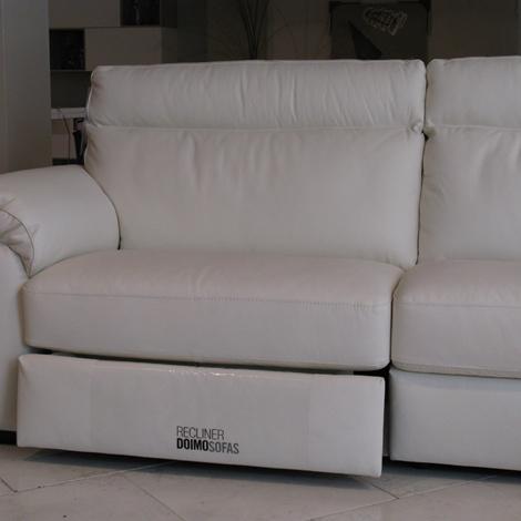 Divano Doimo Sofas Charles divano Pelle - Divani a prezzi scontati