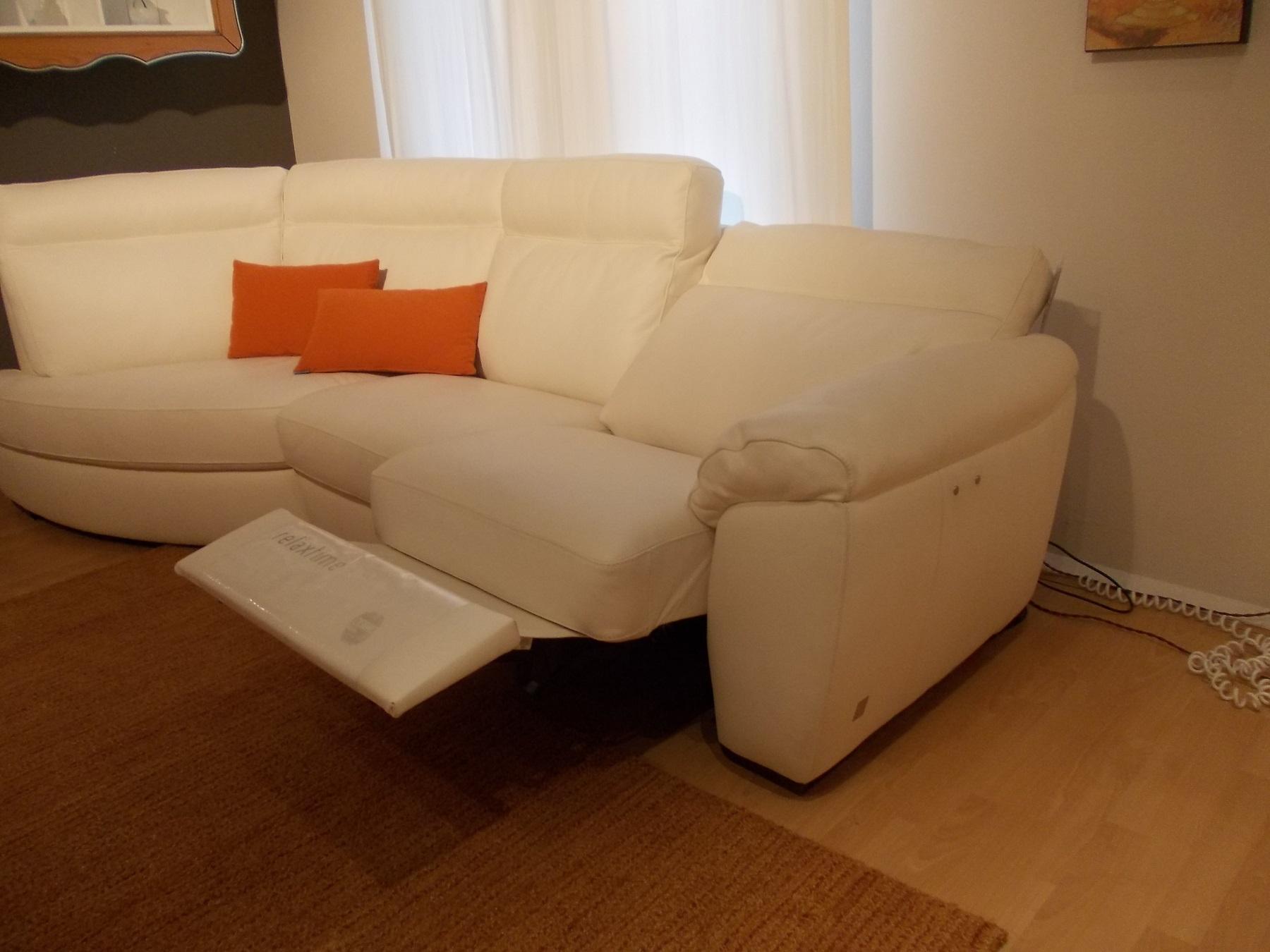 Divano Doimo Sofas Charles Divano relax Pelle - Divani a prezzi scontati