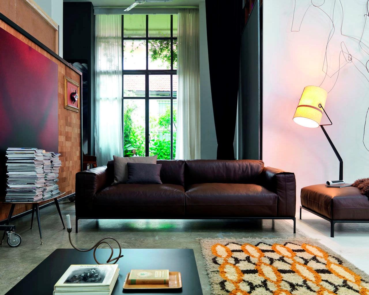 Divano doimo salotti modello metropolis divani a prezzi for Prezzi per rivestire un divano