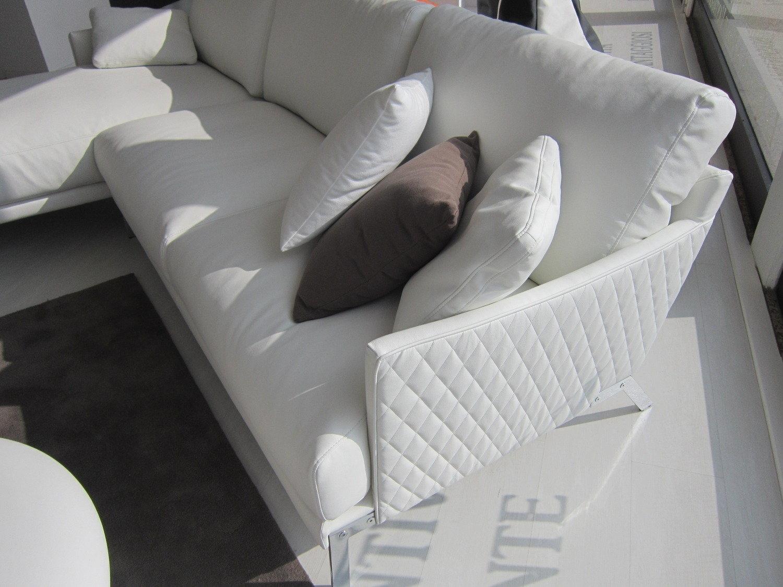 Divano ecopelle bianco scontato divani a prezzi scontati - Divano ecopelle bianco ...