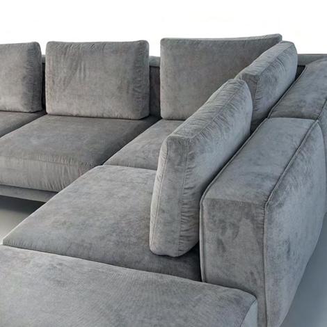 Divano errebi magnum divano angolare in tessuto divano 4 for Divano angolare 2 posti
