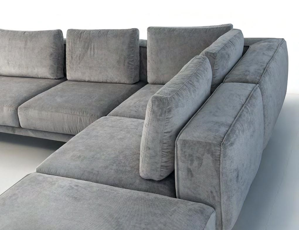 Divano errebi magnum divano angolare in tessuto divano 4 for Divano letto ypperlig