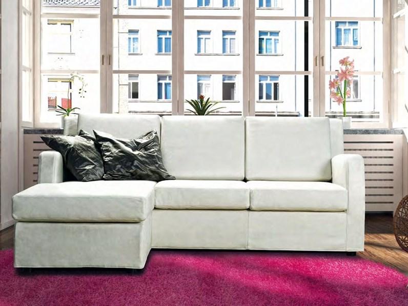 Divano errebi salotti modello play con chaise longue for Outlet mobili vicenza