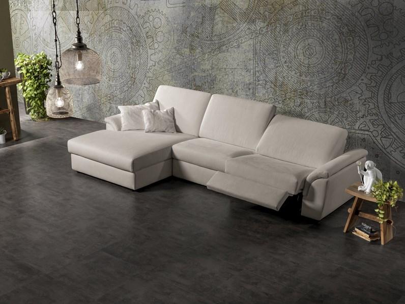 Divano exc eiffel divani relax tessuto - Accostare due divani diversi ...