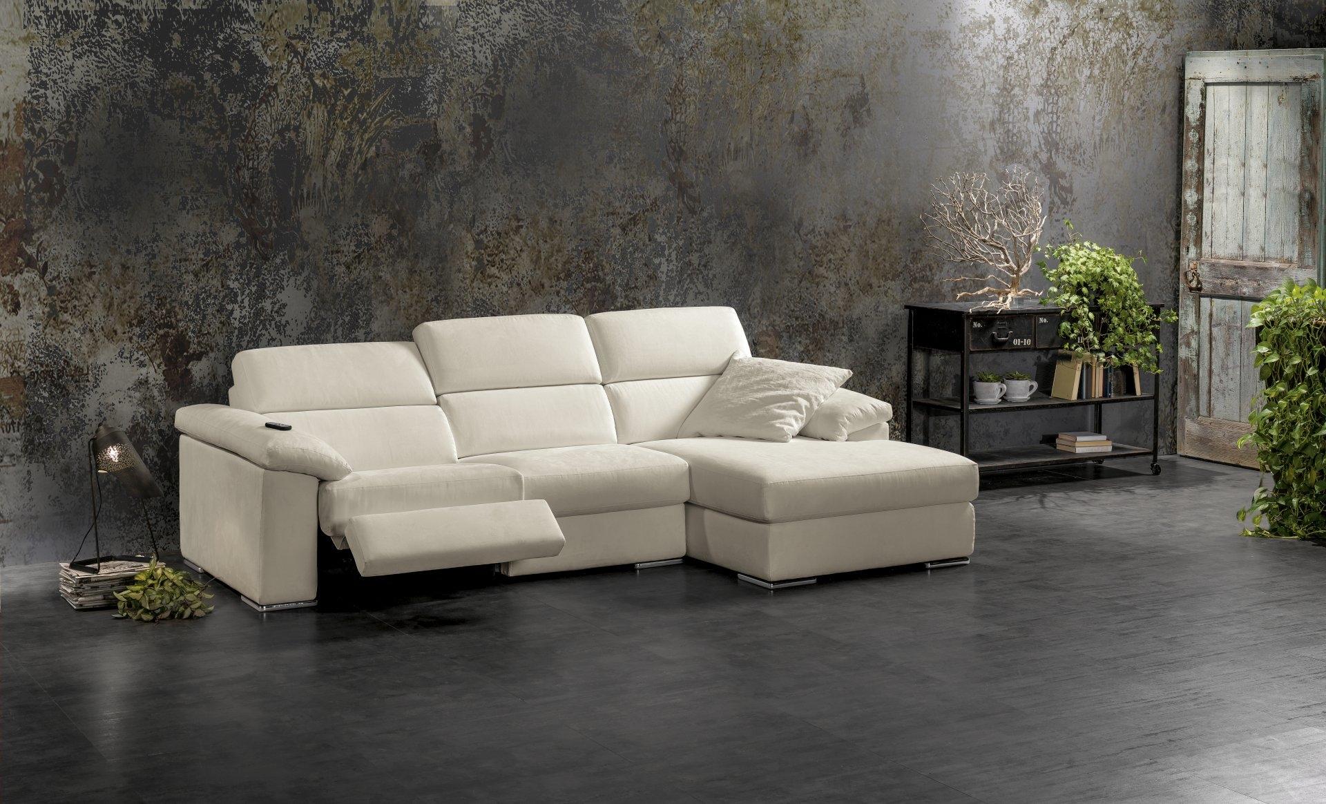 Divano exc sesamo divani con chaise longue divani a for Divani moderni con chaise longue