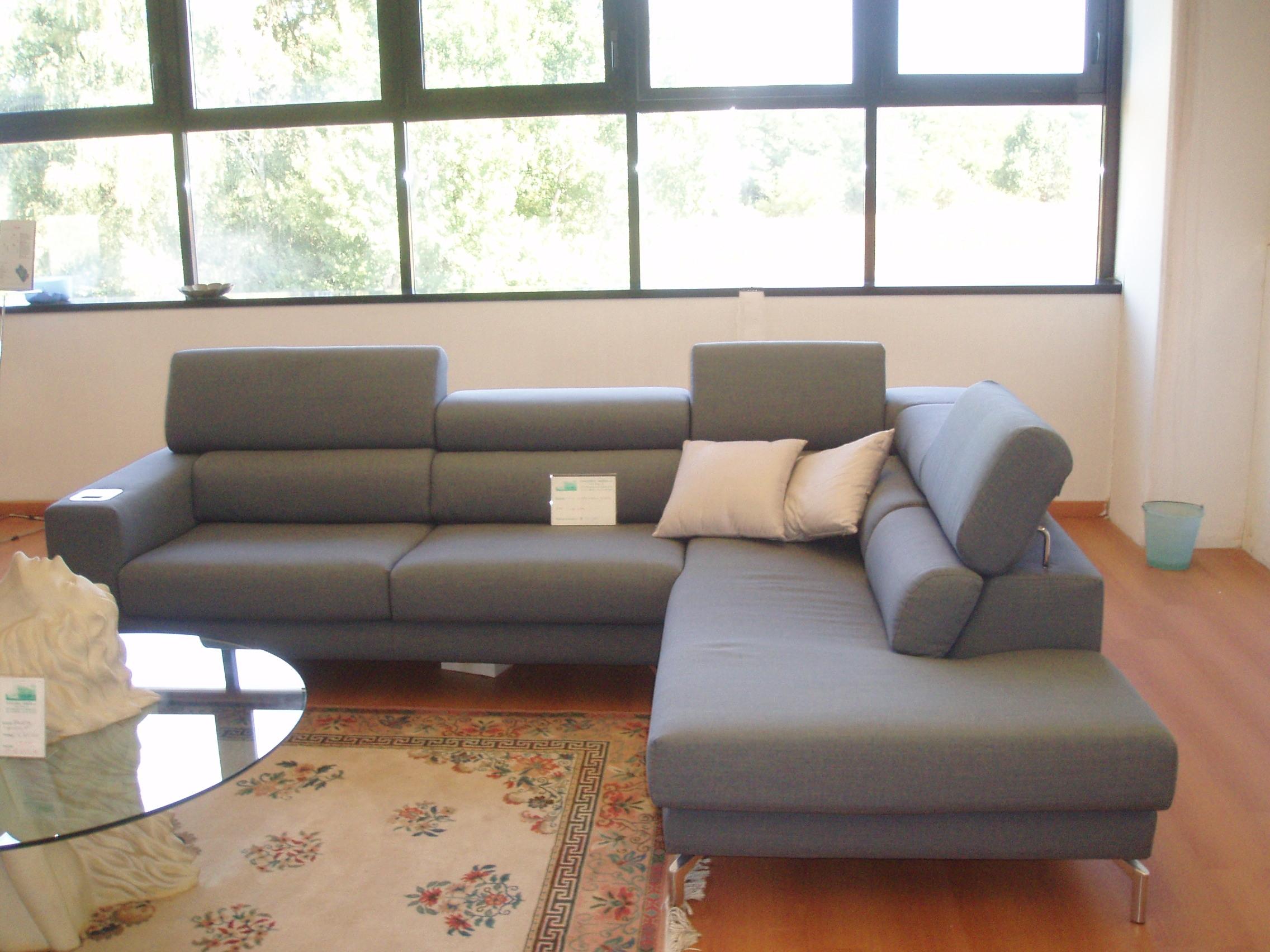 Felix divano dylan chaise longue tessuto divani a prezzi for Divano chaise longue