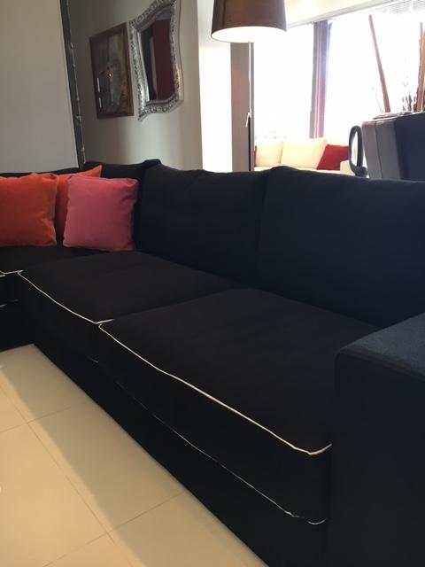 Divani Bianchi Angolari ~ Idee per il design della casa
