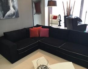 divano moderno angolare in tessuto