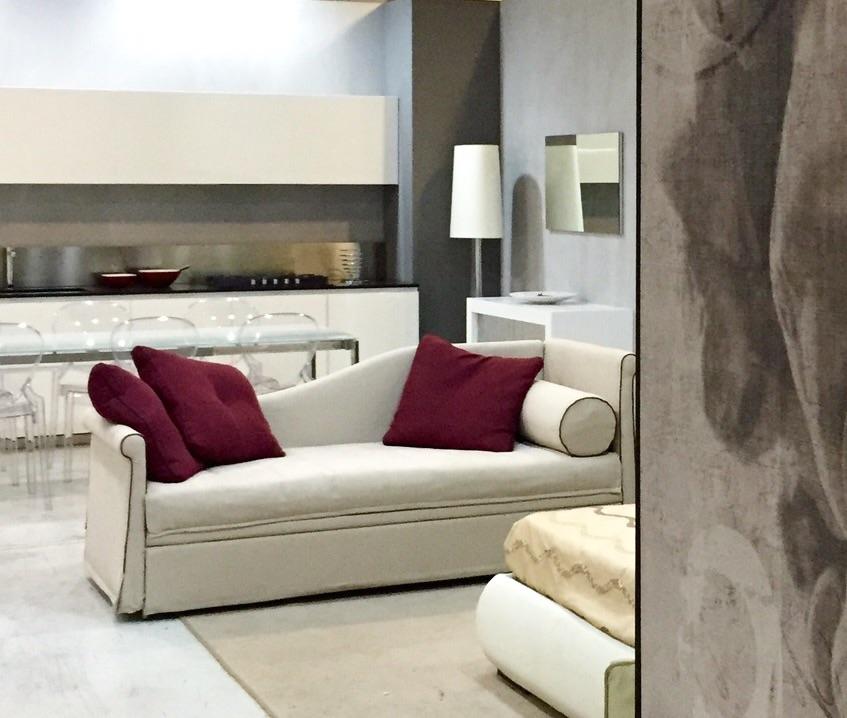 Divano fox italia teo divano letto tessuto divani a for Lunghezza divano letto