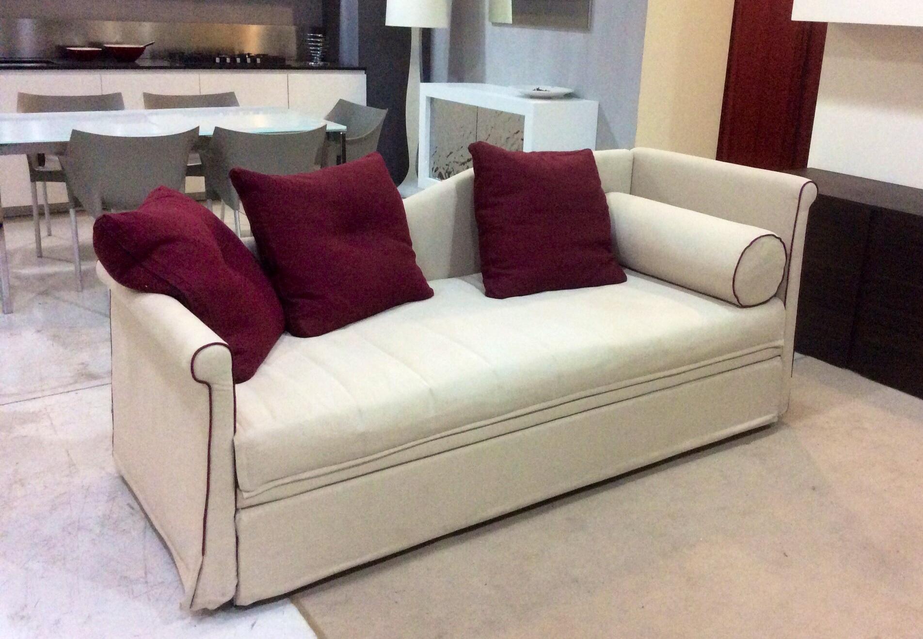 Divano fox italia teo divano letto tessuto divani a - Divano letto in tessuto ...