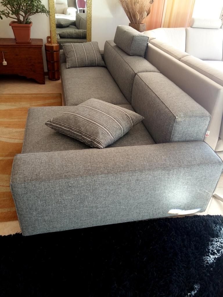 Divano gev salotti kubo divani tessuto divano 3 posti for Divano 3 posti