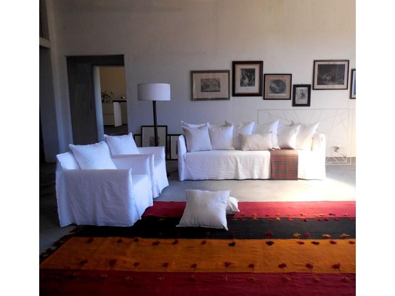 Ghost divano e poltrone di gervasoni offerta outlet for Outlet poltrone design