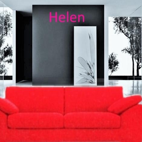 Divano helen con penisola e laterale cm 210 divani a for Divano 210 cm