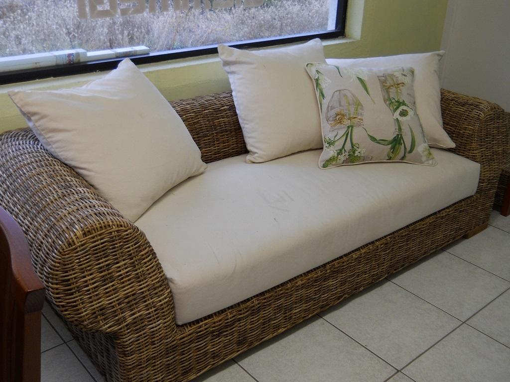 Gervasoni divano in midollino e tessuto scontato del 53 - Gervasoni divano letto ...