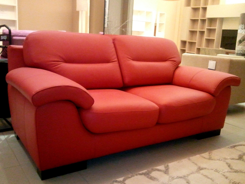Divano in pelle 2745 divani a prezzi scontati for Divano in pelle prezzi