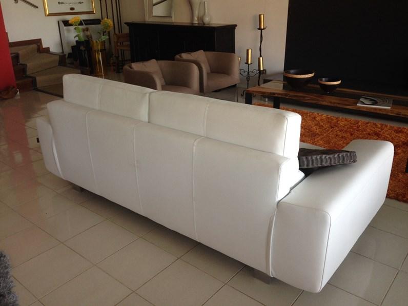 Divano in pelle bontempi divani a prezzo ribassato - Divano klaus prezzo ...