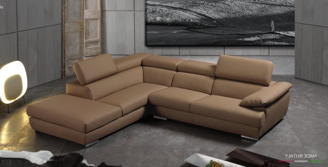 Divano in pelle con angolo penisola scontato del 50 - Pelle del divano rovinata ...