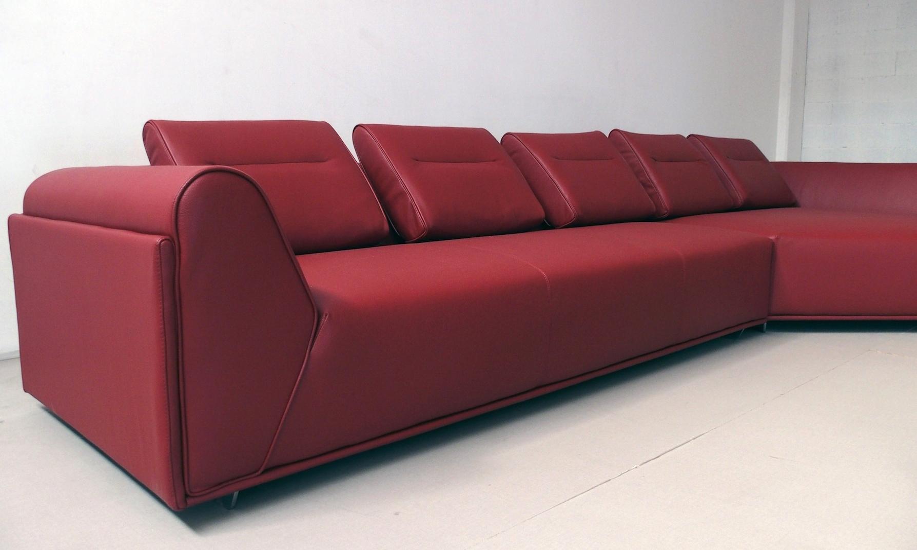 divano in pelle di alta qualit con penisola divani a