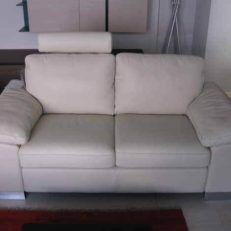 Divano in pelle doimo scontato del 60 divani a prezzi - Divano le confort ...