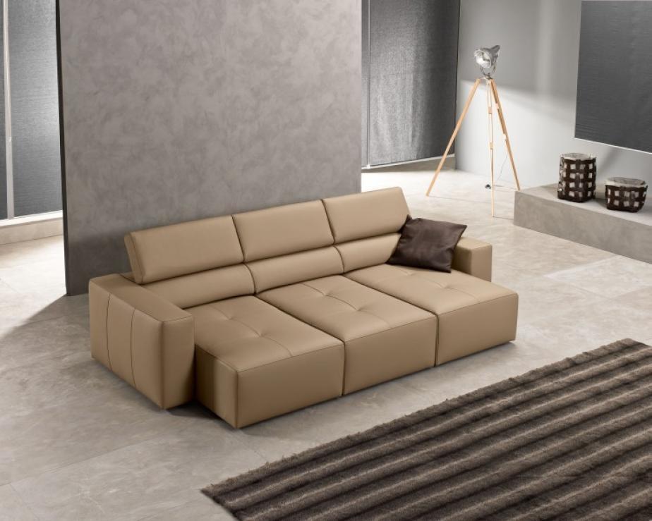 Exc divano bongo divani pelle divani a prezzi scontati - Divano in pelle ...
