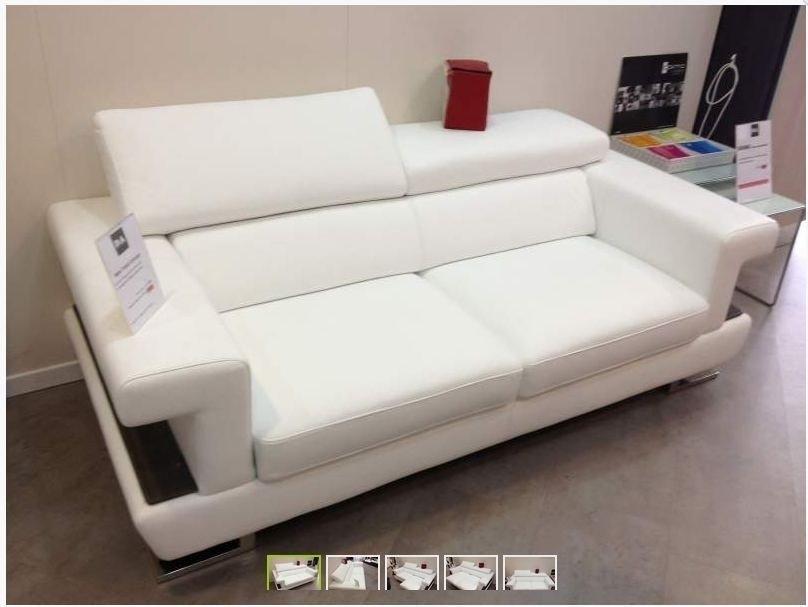 Divano in pelle scontato 5832 divani a prezzi scontati - Divano con seduta allungabile ...