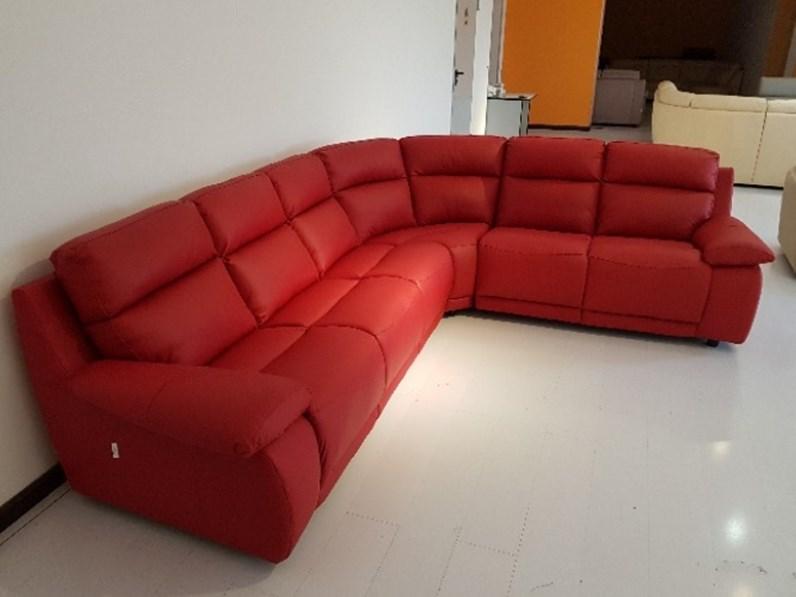 Divano Rosso Ecopelle Idee Per Il Design Della Casa - Divano In ...
