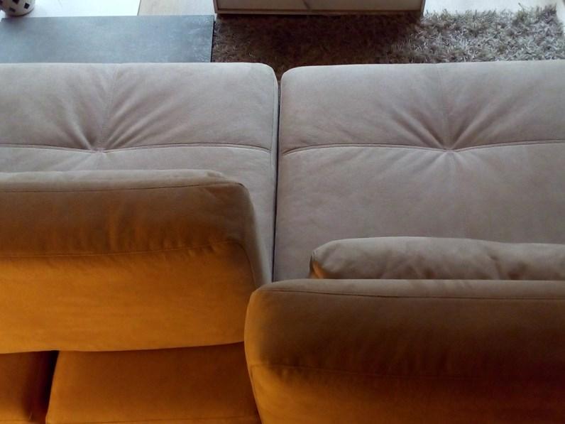 Divano in stile Design Con seduta allungabile con forte sconto